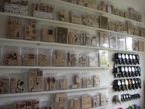 Stampin Up Craft Room