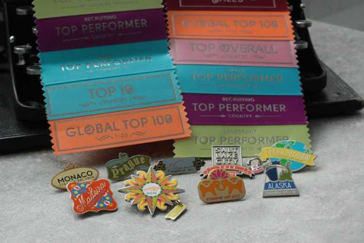 Stampin' Up! Incentive Trip Badges