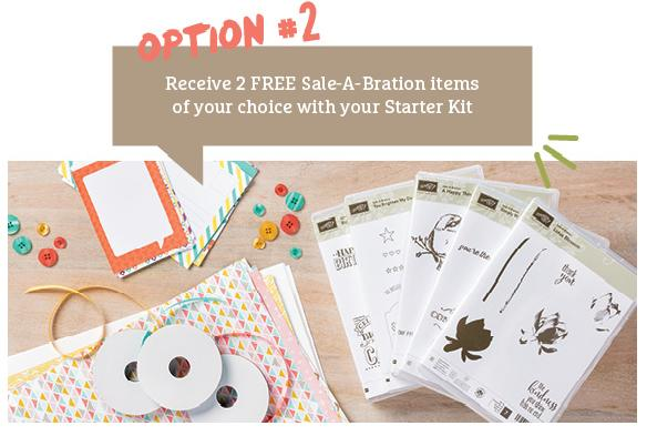 Join Stampin Up Option #2 with Michelle Last