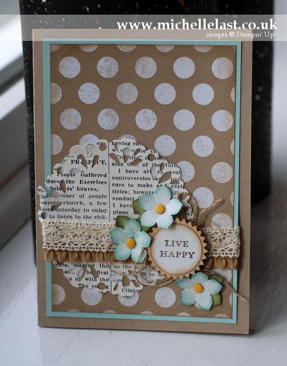 petite-petals from stampin up