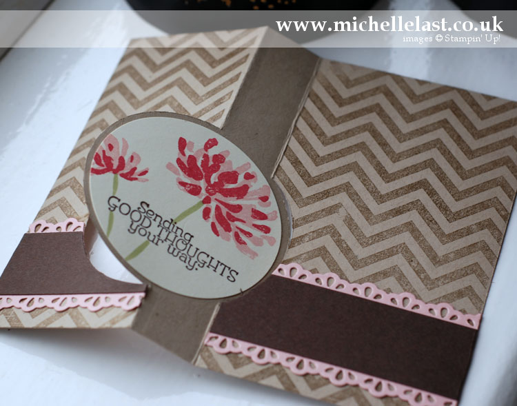 Thinlits card dies using the Too Kind stamp set from Stampin Up!