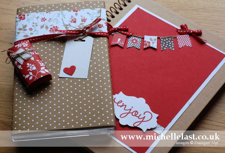 New demo welcome pack from Michelle Last when joining stampin up as a demo