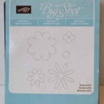 Blossom party die from Stampin Up