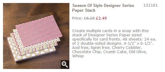 season of style stampin up