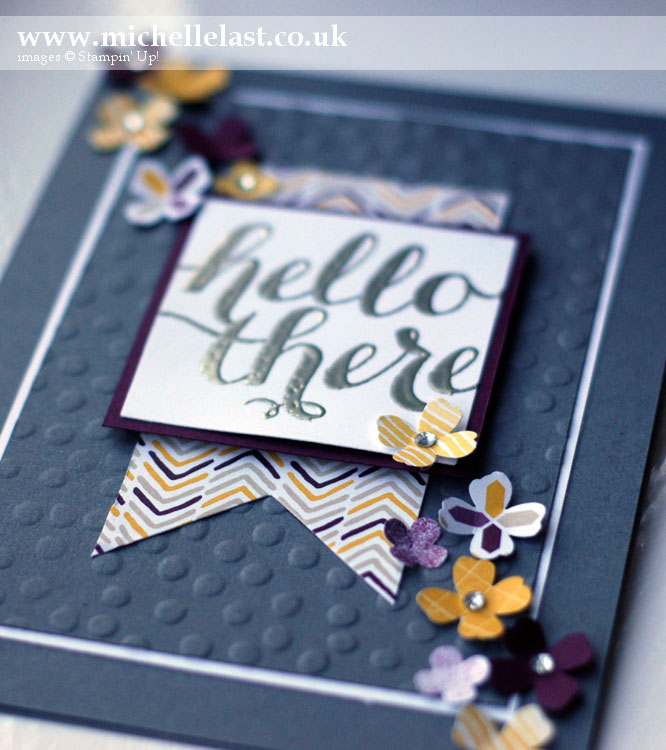 Hello there stamps from Stampin Up by Michelle Last