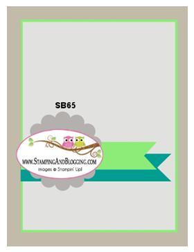 SB65 stamping&blogging sketch