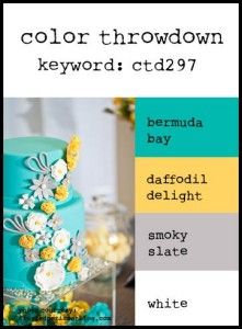 colour inspiration from stampin up