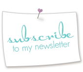 Sign up for my email newsletter