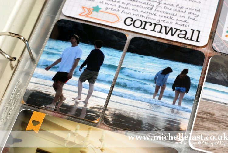 Project Life Cornwall by Michelle Last