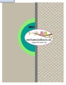 #SB67 stamping&Blogging
