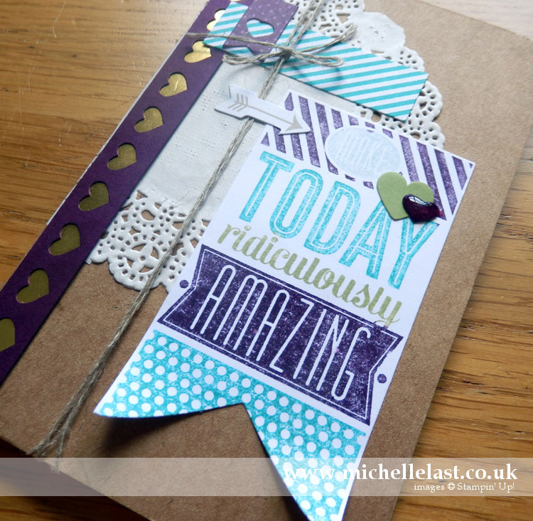 Kraft Grid Journal from Stampin Up