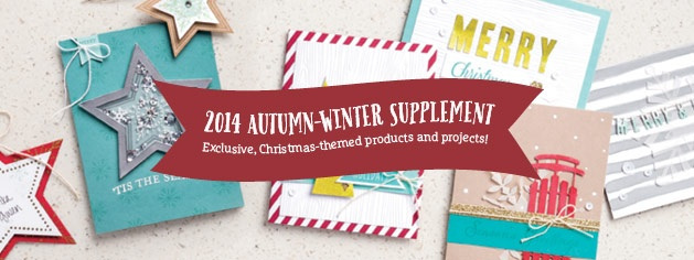 Christmas supplement from Stampin Up