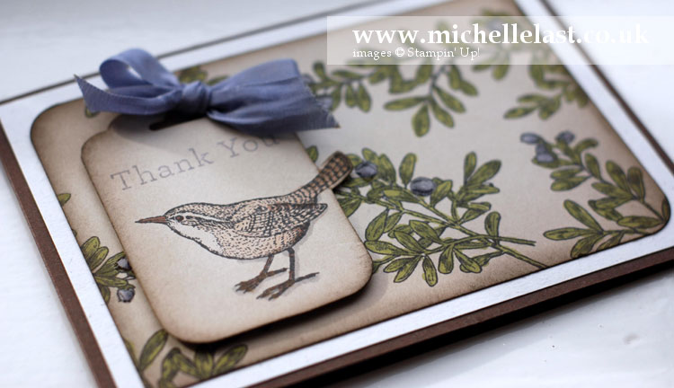 Open Heart from Stampin' Up by Michelle Last