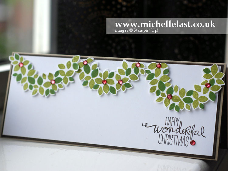 wondrous wreath-garland christmas card