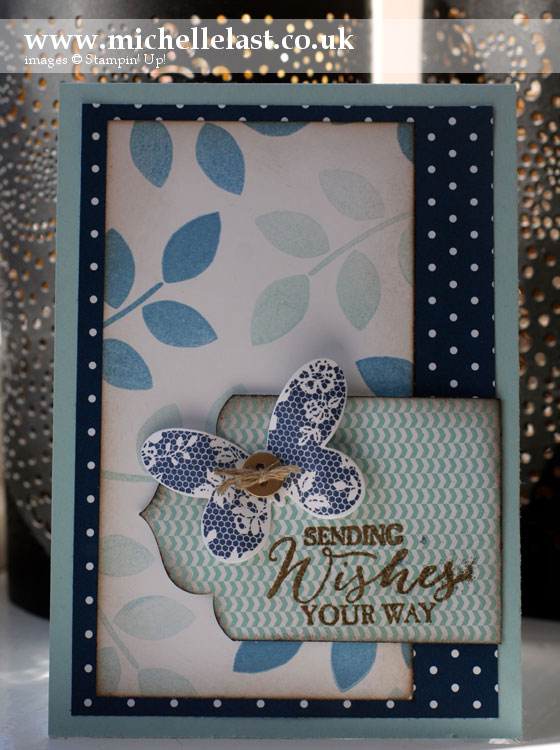 Butterfly-Basics from Stampin Up