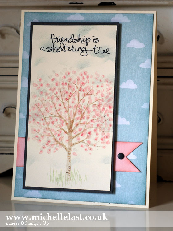 Stampin Up Sheltering Tree