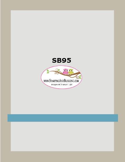 Stamping&Blogging sketch # 95