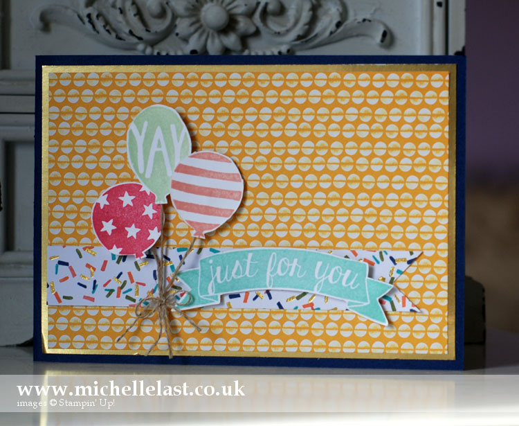 balloon-bash from stampin up