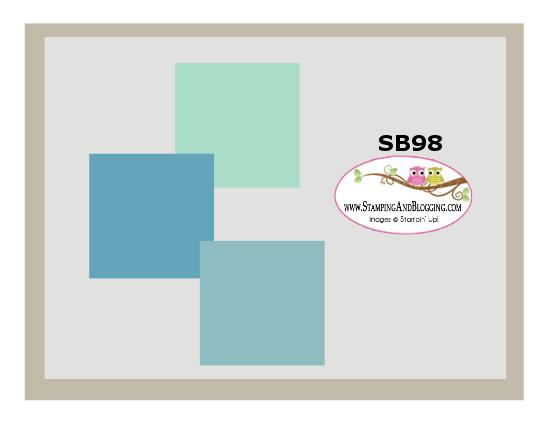 Stamping&Blogging card sketch challenge