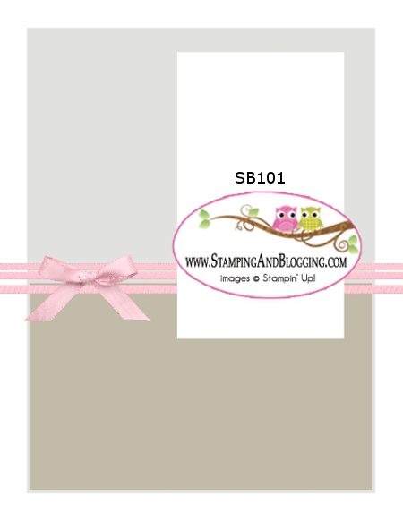 SB101 stamping&Blogging Sketch challenge