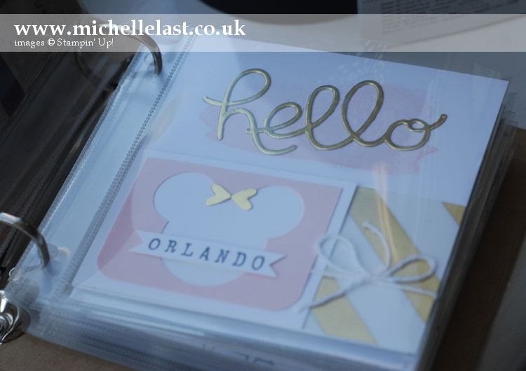 So-You-Mini-Album-Kit from Stampin' Up!