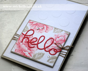 stippled blossoms stampin up