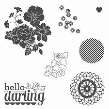 hello darling stampin up