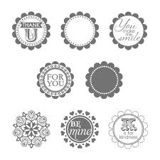 round array stampin up