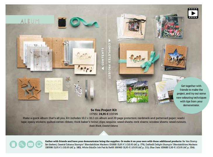 so you project kit from stampin up