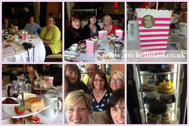 leadership gathering in Telford with Michelle Last & Pinkies