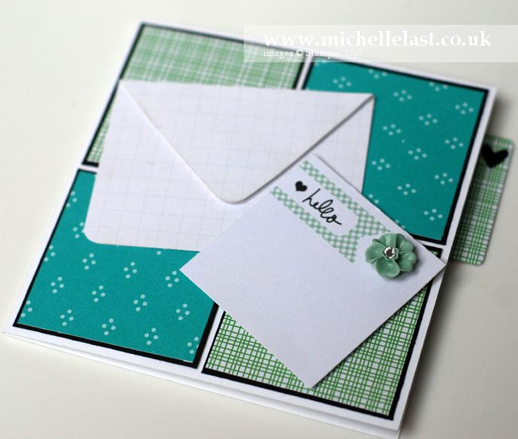 Hello Tab Card using Stampin' Up!