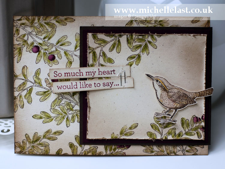 Stampin Up Open Heart
