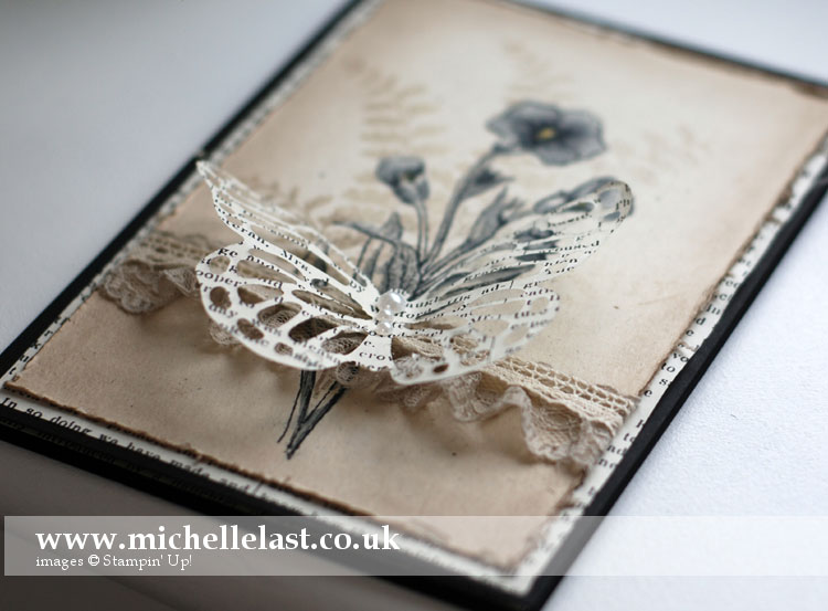 butterfly basics from stampin up