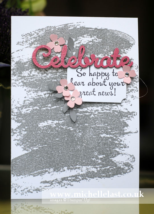 Pinkies Blog Hop using Stampin Up products