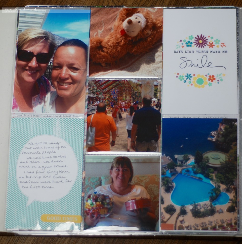 Stampin' Up! Incentive trip  with Michelle Last