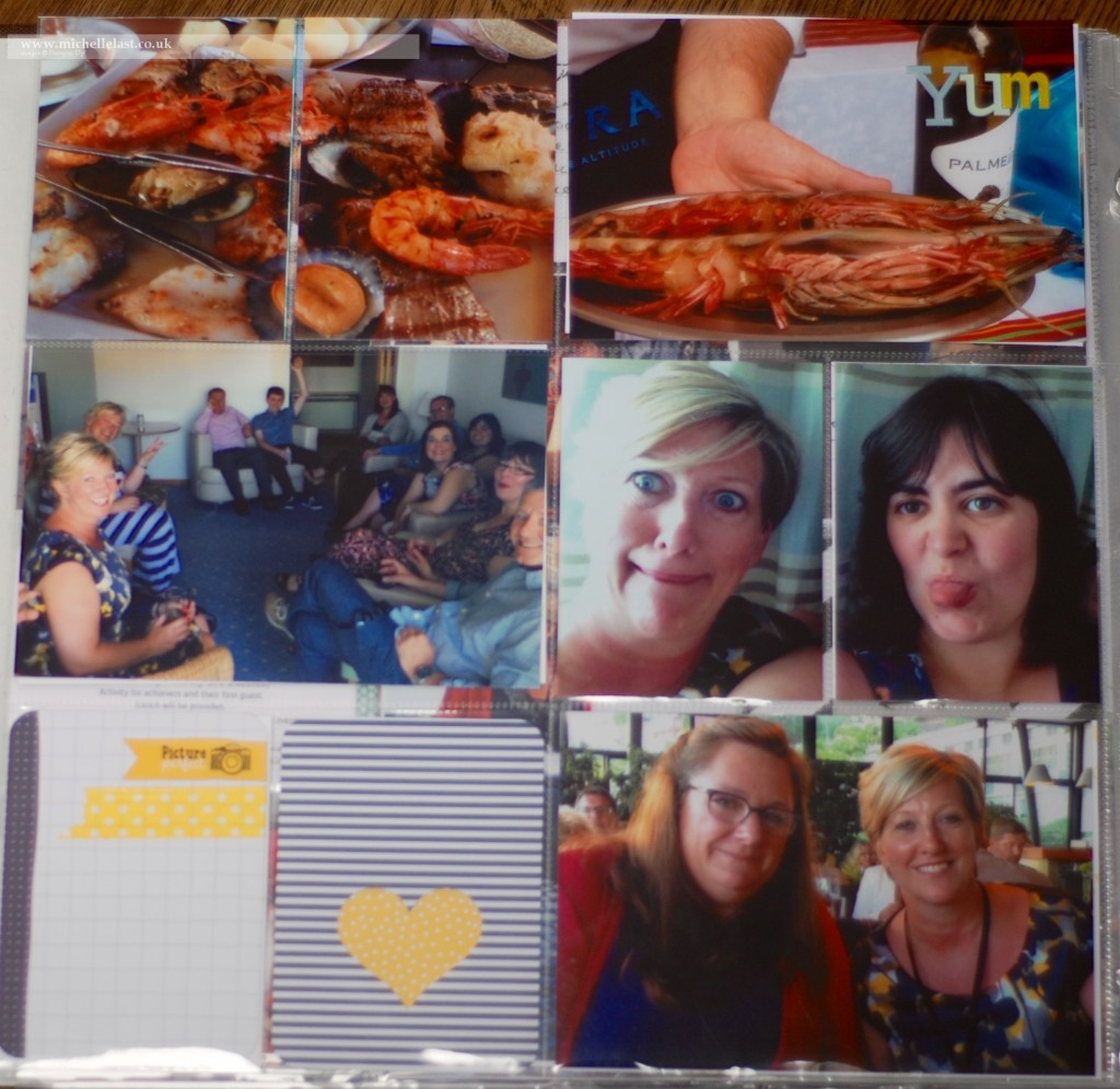 Stampin' Up! Incentive trip  with Top UK Demo Michelle Last