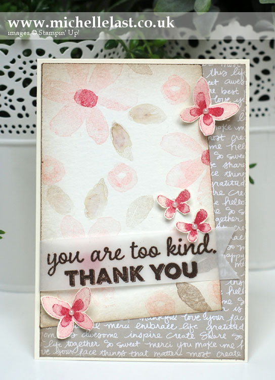 Garden in Bloom from Stampin Up