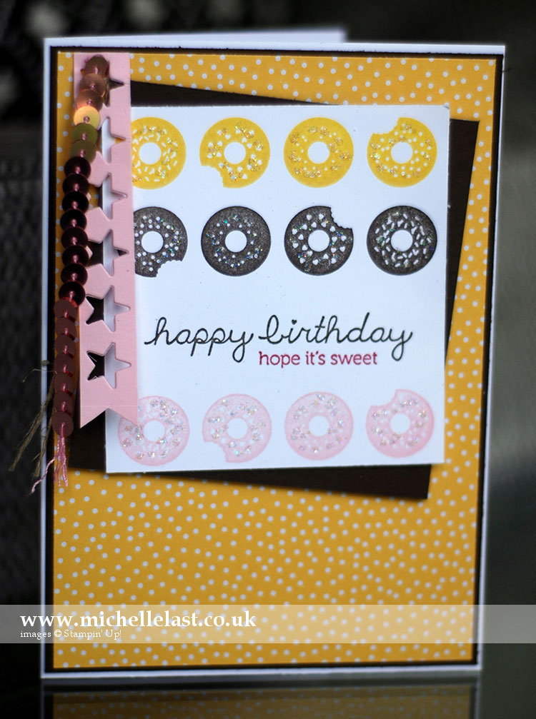 Sprinkles-on-top from Stampin Up