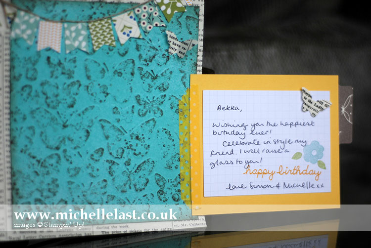 Project Life Page by Michelle Last Stampin Up Demo