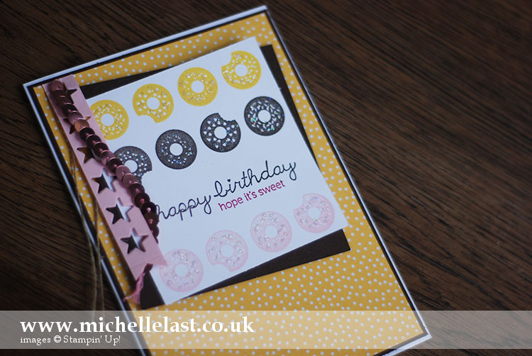 sprinkles-on-top-from Stampin Up
