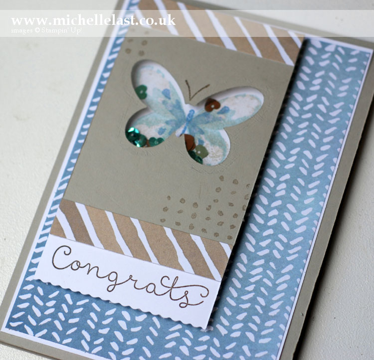 Watercolour Wings from Stampin' Up!