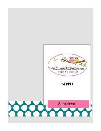 SB117 Stamping&Blogging