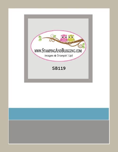 SB119 Stamping&Blogging