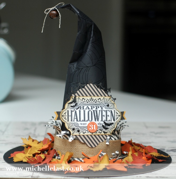 Stampin Up Witches Hat