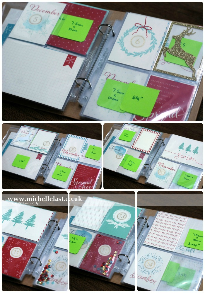 Project Life by Stampin Up for Dec Daily 5-14