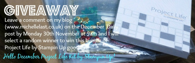 december daily giveaway with Michelle Last