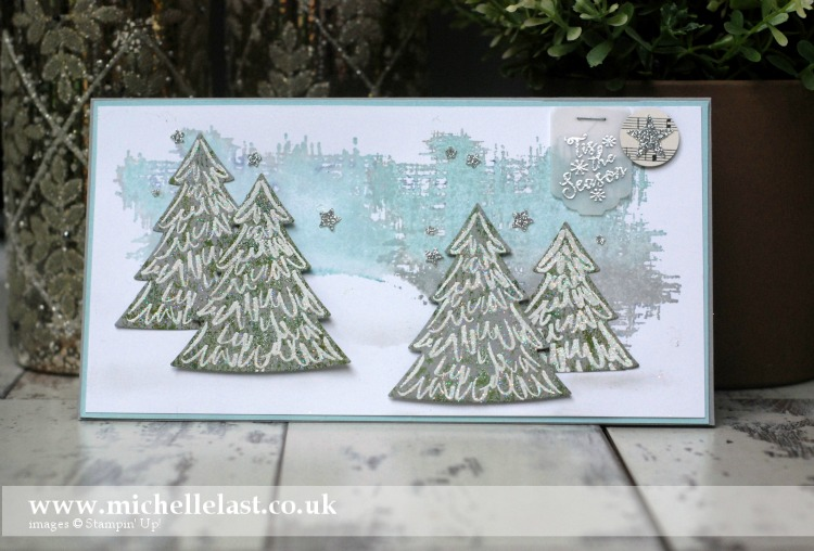 Peaceful Pines from Stampin Up