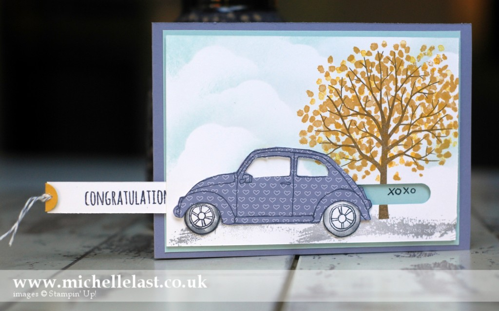Beautiful Ride Open Stampin Up