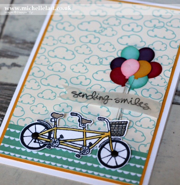 Pedal Pusher free during saleabration from Stampin Up