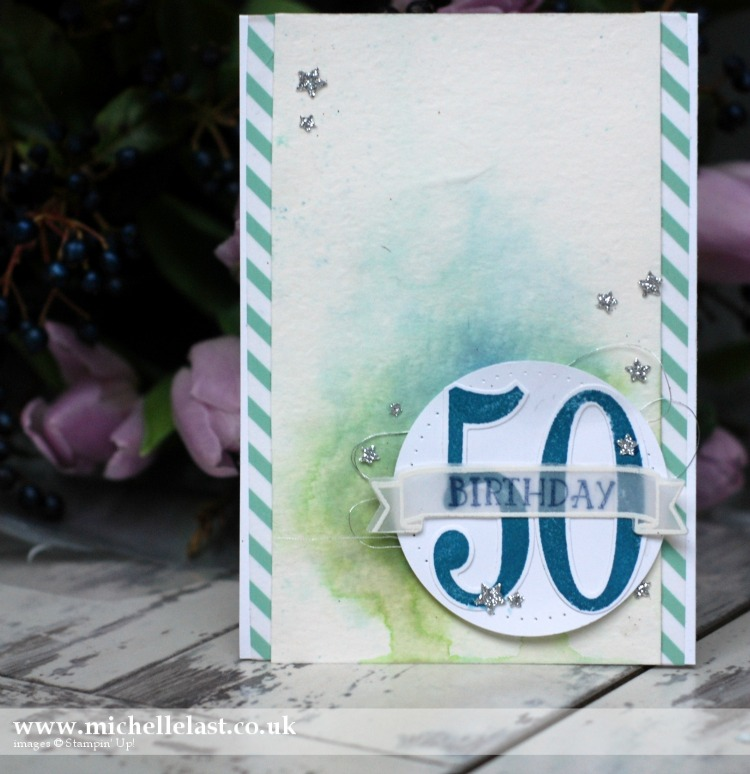Number of Years 50th Birthday Card
